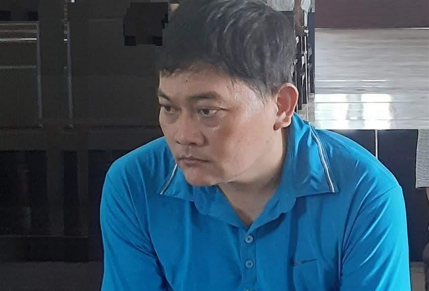 Bị cáo Lê Quang Hòa