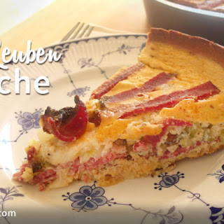 The Reuben Quiche