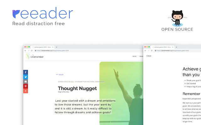 Reeader - Minimal reader with speed reading