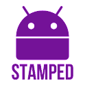Stamped Purple Icons icon