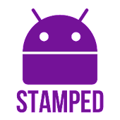 Stamped Purple Icons