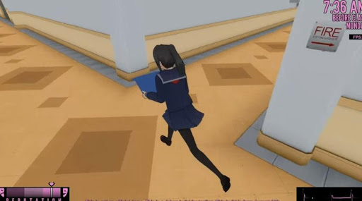 yandere simulator how to go to class