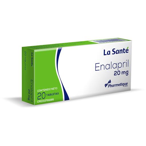 Enalapril Elter 20 mg x 20 Tabletas