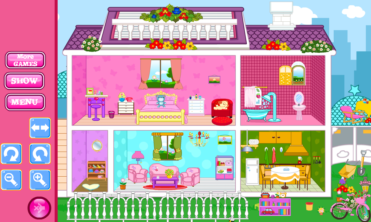 Small People House Decoration Screenshot
