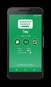 Tɪɴʏ Tᴇxᴛ Keyboard Aplikacije za Android screenshot