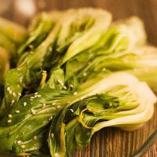 Asian Greens with Three Sesames