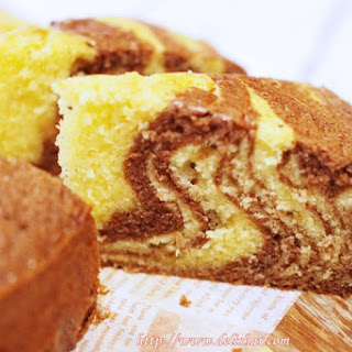 Marble Butter Cake.