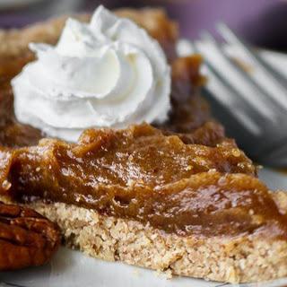 Easy Date Caramel Pecan Pie [Vegan, Gluten-Free]