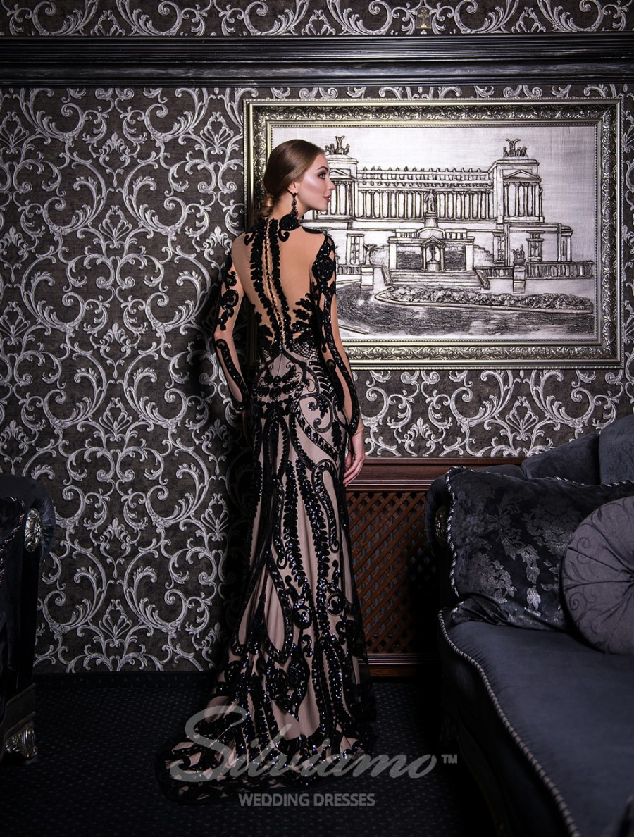 Пряме вечірнє плаття від Silviamo оптом