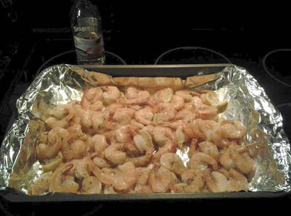 Yummy Baked Italian Shrimp