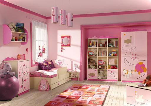 Bedroom Little Girls Decoration screenshot 5