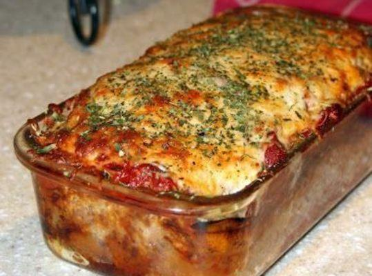Parmesan Meatloaf Recipe