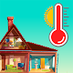 Thermometer for room and outside