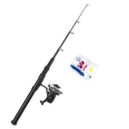 Lanseta telescopica pentru pescuit 160 cm
