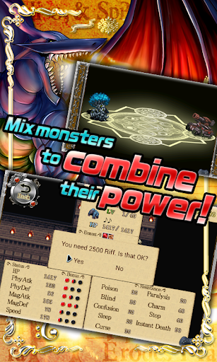 Code Triche RPG Band of Monsters APK MOD screenshots 3