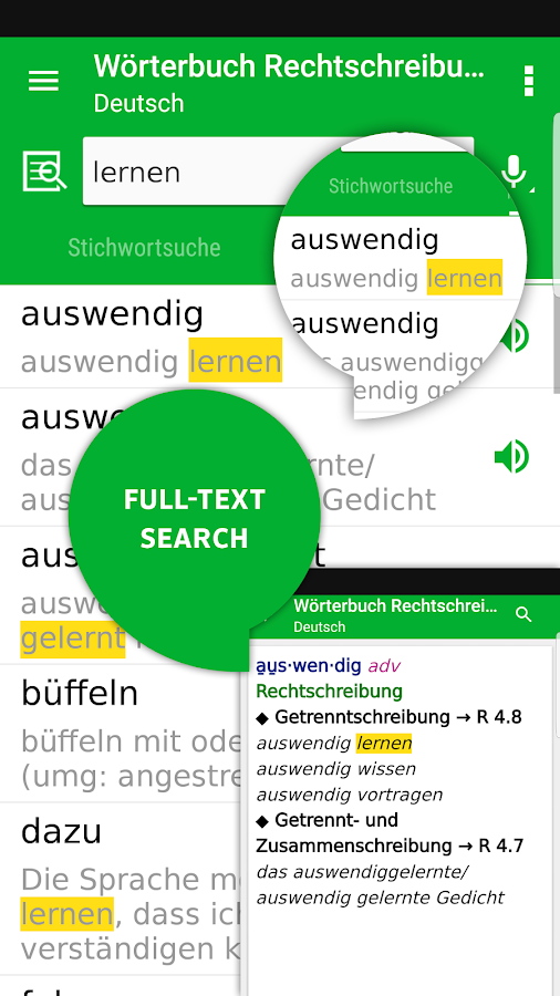 Dictionary German Spelling by PONS- screenshot