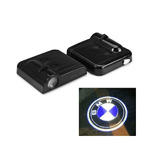 Kit 2 x proiector LED logo marca automobil, montare sub usa/portiera