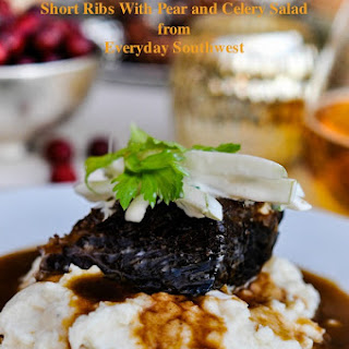 Christmas Dinner Short Ribs with Pear and Celery Salad Recipe