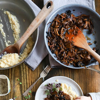 Mascarpone Risotto with Stewed Wild Mushrooms Recipe