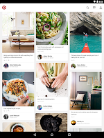 Screenshot of Pinterest