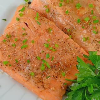 Apple Roasted Salmon