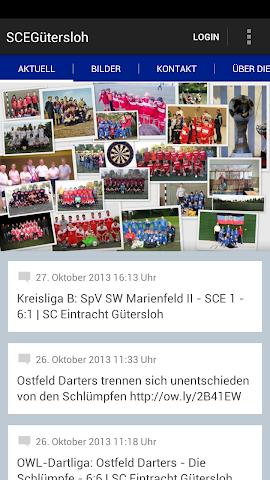android SC Eintracht Gütersloh Screenshot 0