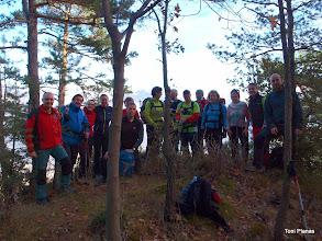 Photo: Foto de grup al Roc dels Quatre Batlles
