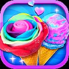 Unicorn Ice Cream Sundae - Ice Desserts Maker icon