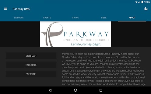 Parkway UMC- screenshot thumbnail
