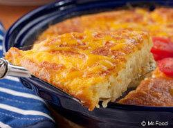 Macaroni And Cheese Pie Recipe