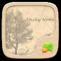 GO SMS PRO STICKY NOTES THEME icon