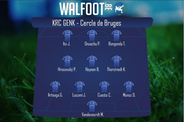 KRC Genk (KRC Genk - Cercle de Bruges)