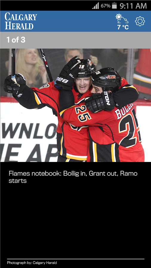 The Calgary Herald- screenshot