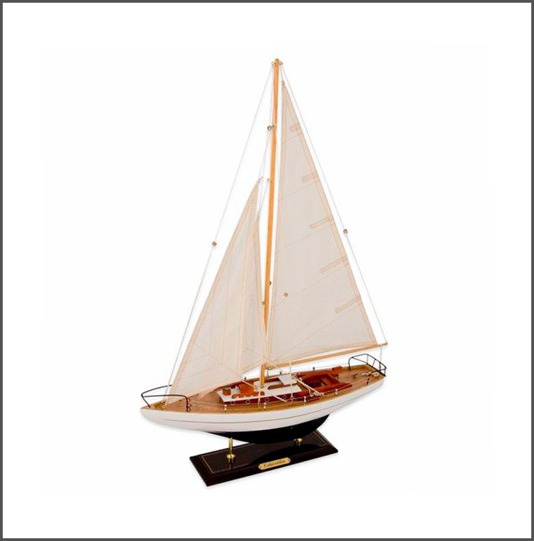 Segelbåt Concordia vit