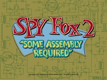 Spy Fox Some Assembly Required- screenshot thumbnail