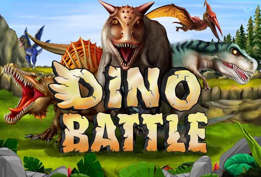 Dino Battle  captures d'u00e9cran 1