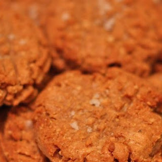 Salty Spicy Peanut Butter Cookies