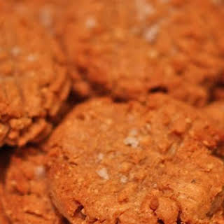 Salty Spicy Peanut Butter Cookies.
