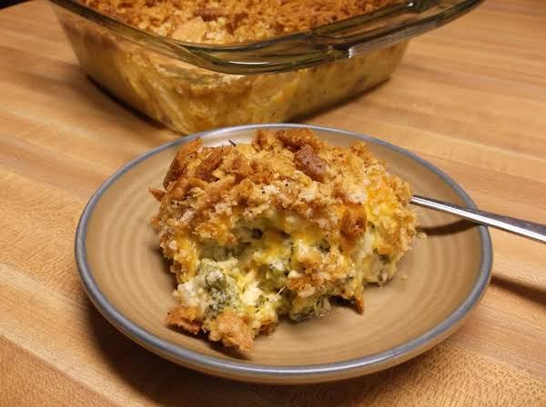 Sissa's Ham And Broccoli Casserole Recipe