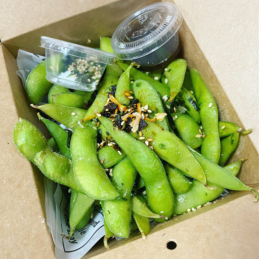 Seaweed Edamame Box
