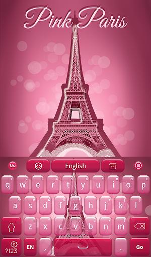 Pink Paris Keyboard