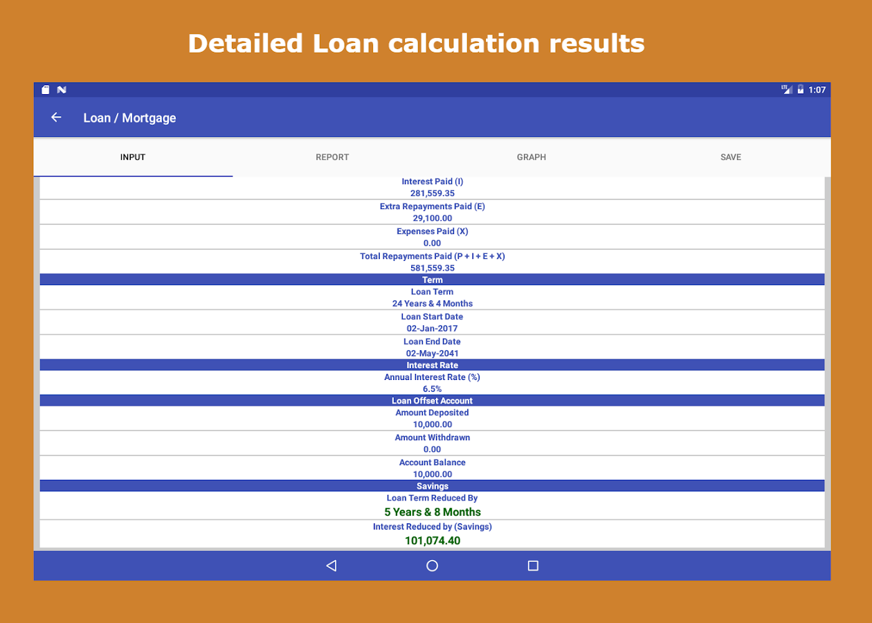 Loan Interest Calculator Android Apps on Google Play – Loan Interest Calculator