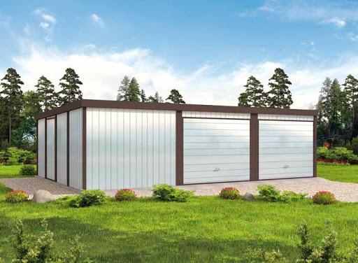 projekt GB7 Garaż Blaszany