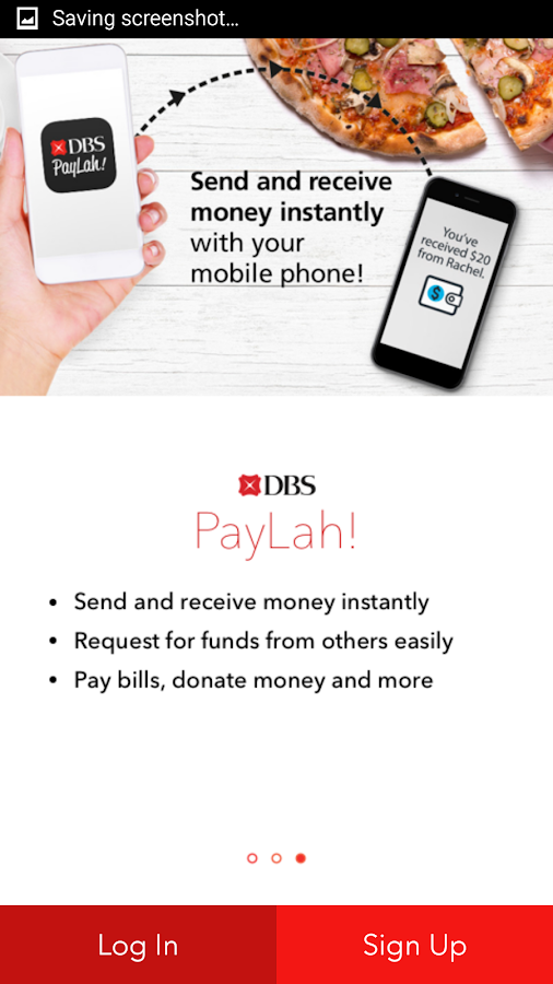 DBS PayLah!- screenshot