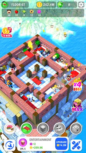 Tower Craft 3D - Idle Block Building Game apkdebit screenshots 3
