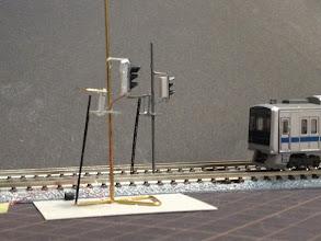 Photo: 自作模型鉄道用信号機作成