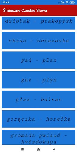 Śmieszne Czeskie Słowa screenshot 3