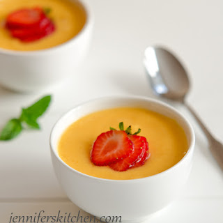 Chilled Peach Soup