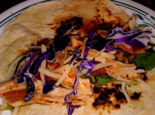 Serve over rice, or in tortillas, with your fave toppings.  Super easy! ...