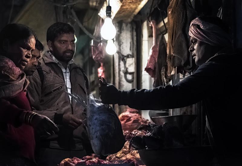 Mercato del pesce Nuova Dheli di Aldo1973